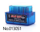 Mini elm OBD2 Bluetooth-сканер